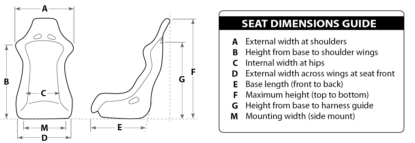 Seat Dimensions Guide